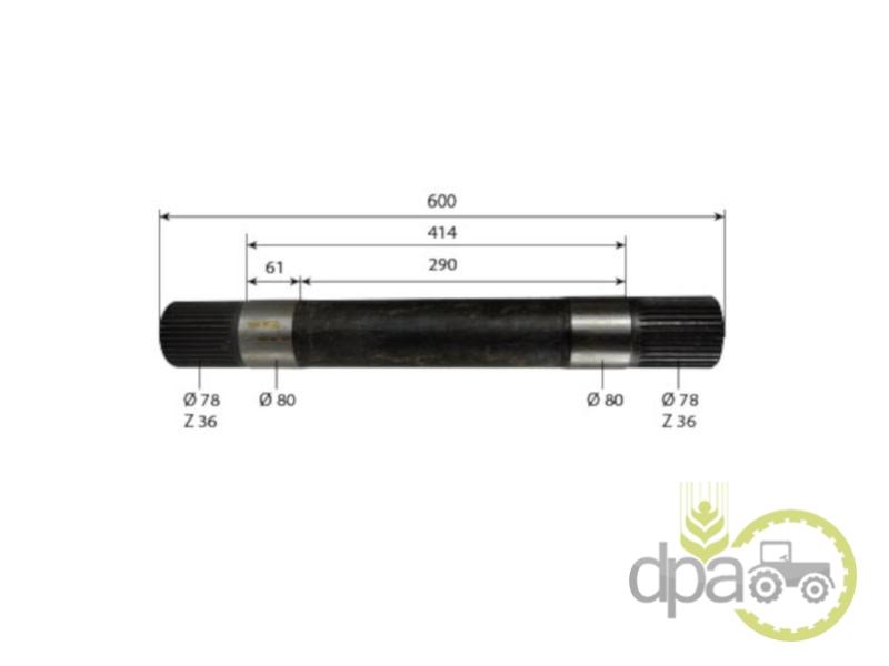 Ax ridicare hidraulica  John Deere R111550