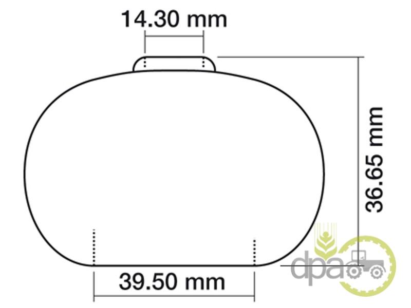 Burduf schimbator viteze  Massey Ferguson 180579M3
