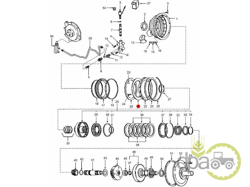 Disc frictiune  Ford E0NN7R000AB