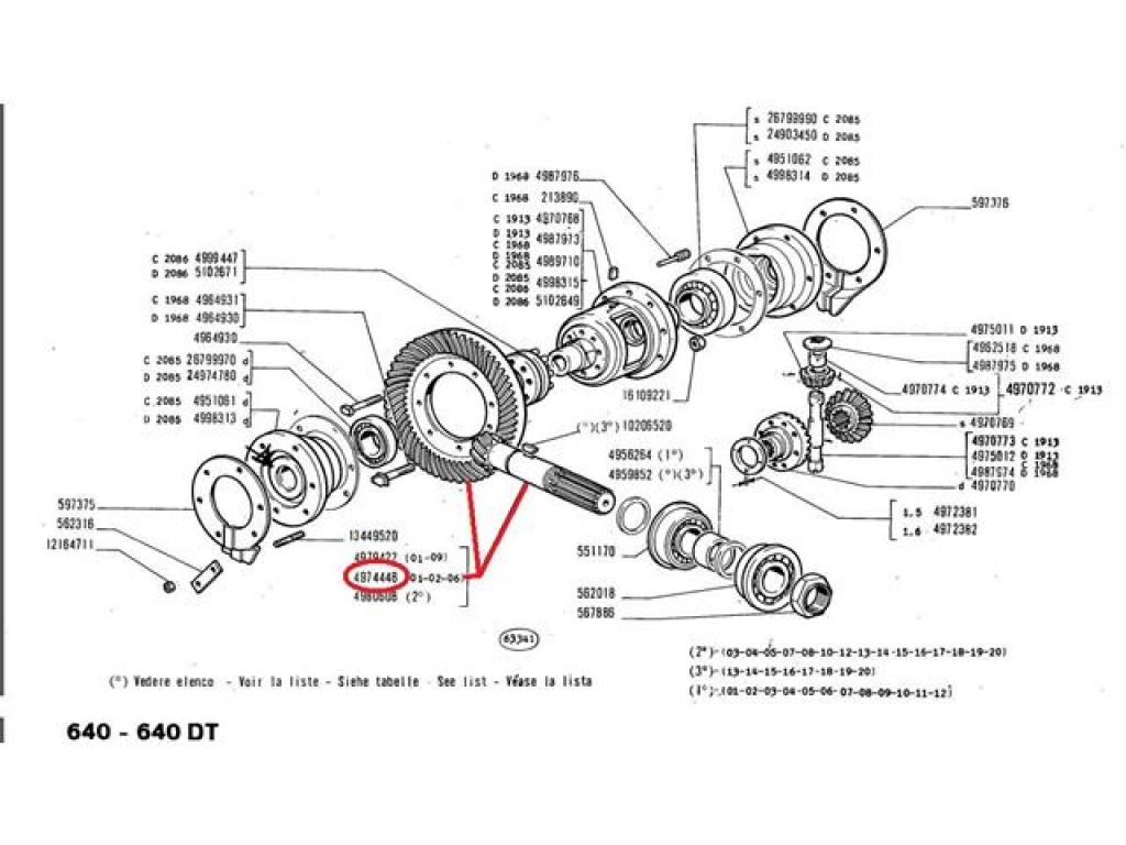 Grup conic spate 12x47  Fiat 4974448