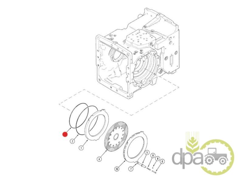 Oring disc frana  Case IH 238-5273