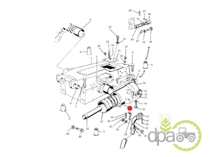 Oring piston hidraulic  Massey Ferguson 1441130X1