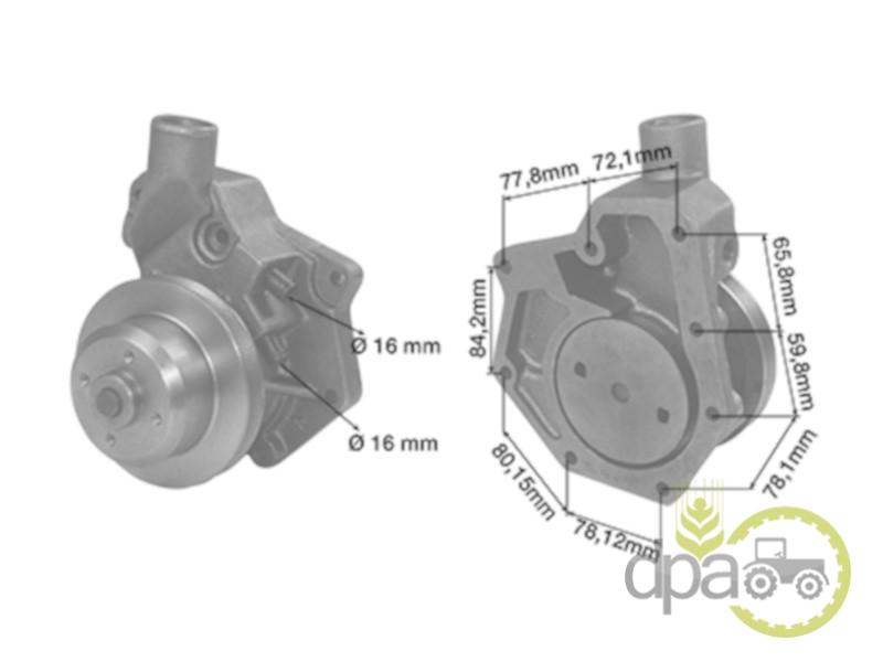 Pompa apa  John Deere AR92416
