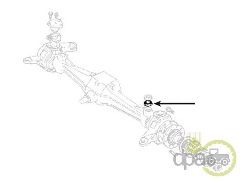 Rulment Pivot New Holland 24903780 707710791 32006