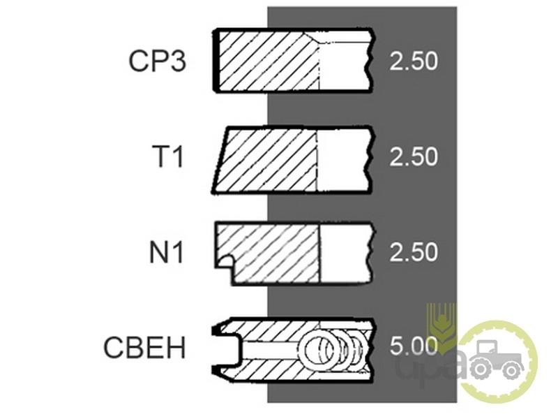 Segmenti motor  Same 003400526