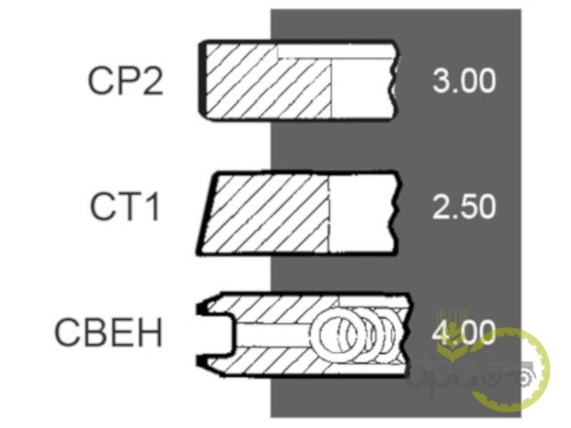 Segmenti motor  Same 00810090610