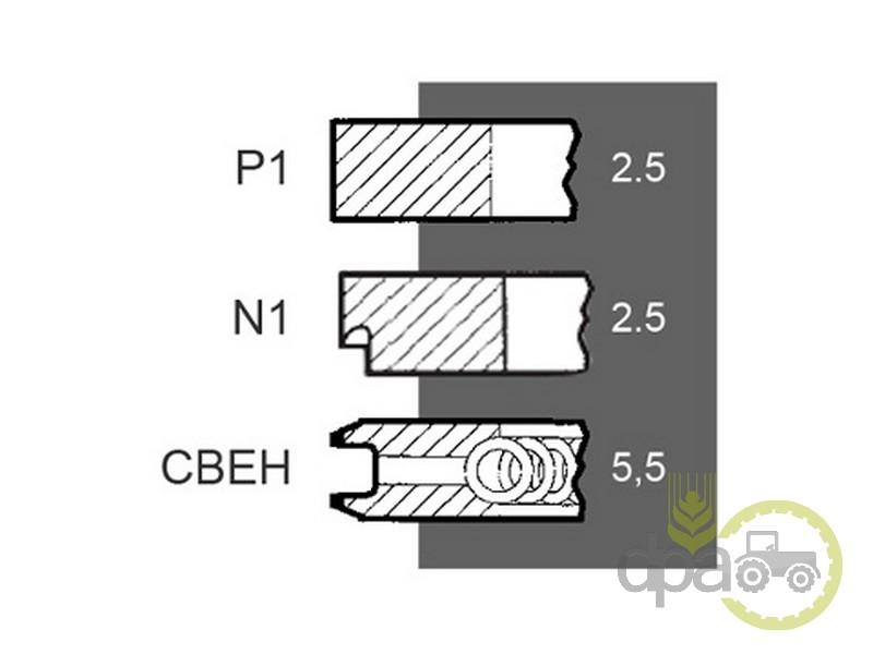 Segmenti motor  Fiat 1210025600