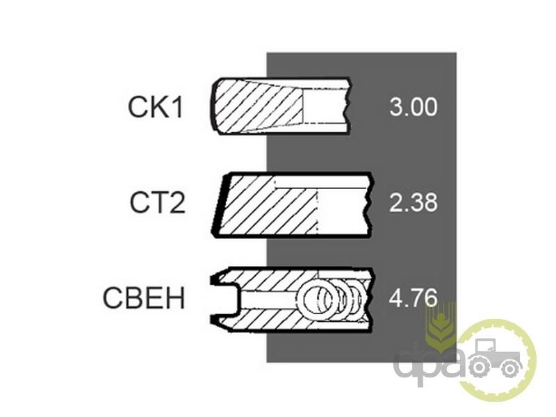Segmenti motor  Case IH 3144977R91