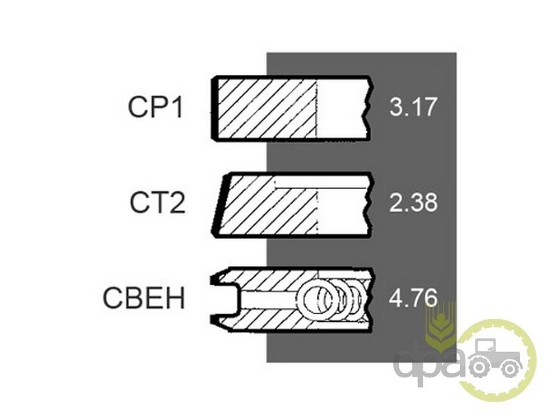 Segmenti motor  Case IH 3218416R92