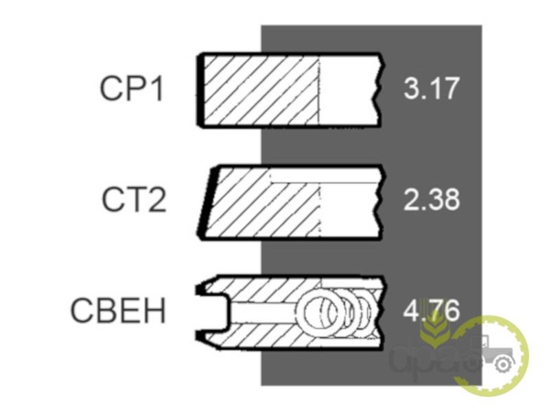 Segmenti motor  Case IH 3218669R91