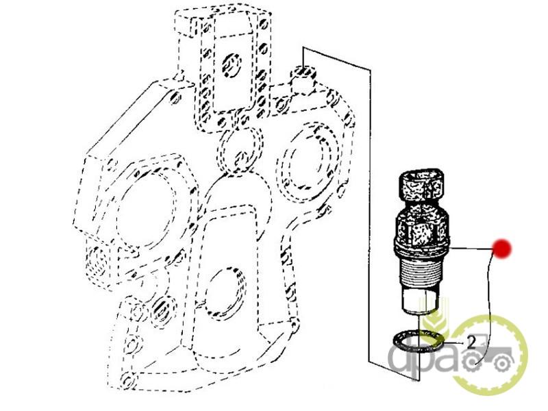 Senzor turatie  John Deere RE71121