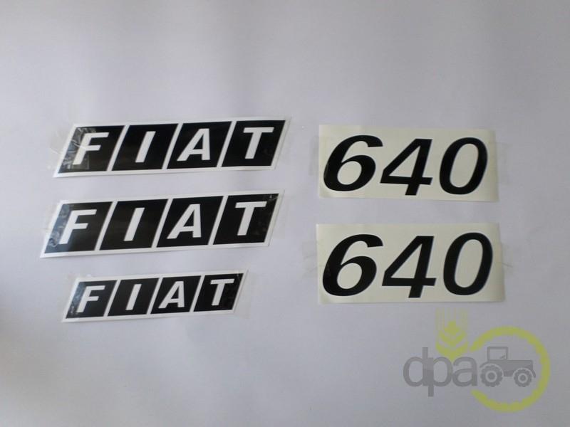 Set embleme  Fiat