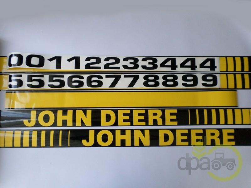 Set embleme  John Deere
