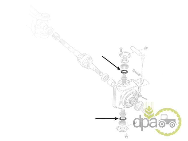 Simering pivot  Massey Ferguson 3429317M1