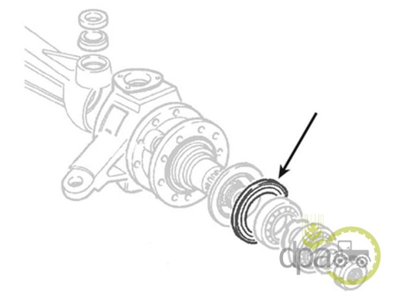 Simering roata fata  Fiat 40001030