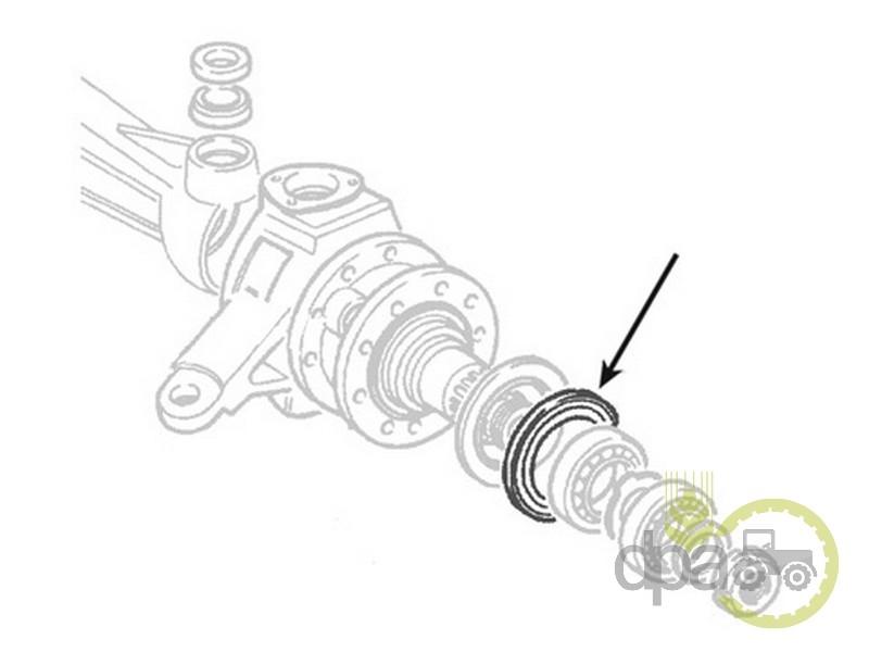 Simering roata fata  Fiat 5105973
