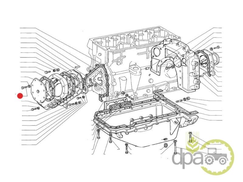 Surub capac distributie  Fiat 581310