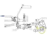 Fiat-Arcuri transmisie-ARC MANETA SCHIMBATOR