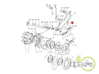 Ford-Alte piese sistem franare-ARC PEDALA FRANA