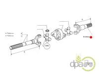 Fiat-Axe transmisie-AX PLANETARA FATA