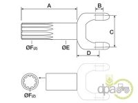 Case IH-Axe transmisie-AX PLANETARA SCURT