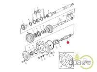 John Deere-Axe priza putere-AX PRIZA PUTERE