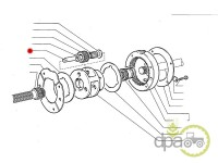 Fiat-Axe reductor-BOLT PINION REDUCTOR