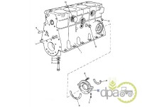 David Brown-Alte piese motor-CAPAC SIMERING ARBORE MOTOR