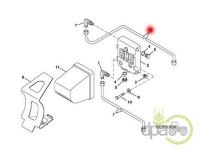 John Deere-Alte piese sistem alimentare-CONDUCTA COMBUSTIBIL