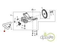 John Deere-Alte piese motor-CONDUCTA POMPA ULEI MOTOR