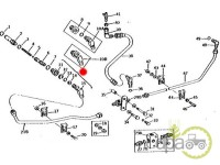 John Deere-Alte piese sistem hidraulic-CONEXIUNE CONDUCTE HIDRAULICE