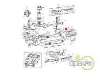 Massey Ferguson-Alte piese sistem hidraulic-DISTANTIER POMPA HIDRAULICA