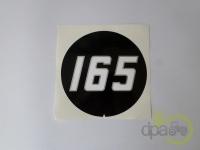 Massey Ferguson-Alte piese cabina-EMBLEMA MF165