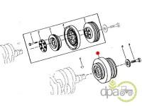 John Deere-Alte piese motor-FULIE ARBORE MOTOR