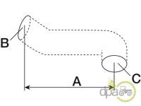 Case IH-Furtunuri-FURTUN INFERIOR RADIATOR