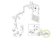 John Deere-Alte piese sistem hidraulic-FURTUN ULEI HIDRAULIC 1M