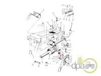 Massey Ferguson-Garnituri ridicare hidraulica-GARNITURA PISTON HIDRAULIC
