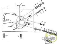 John Deere-Garnituri ridicare hidraulica-GARNITURA SUPAPA CILINDRU HIDRAULIC