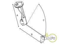 Case IH-Indicatoare combustibil rezervor-INDICATOR COMBUSTIBIL REZERVOR