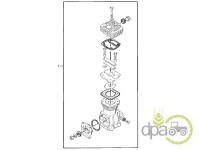 John Deere-Alte piese sistem franare-KIT REPARATIE COMPRESOR AER