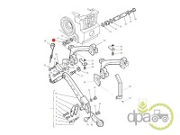 Massey Ferguson-Garnituri ridicare hidraulica-ORING AX RIDICARE HIDRAULICA