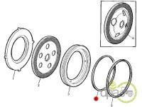 John Deere-Garnituri sistem franare-ORING DISC FRANA