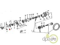 John Deere-Alte piese punte fata-ORING PUNTE FATA