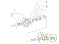 New Holland-Pinioane transmisie-PINION GRUP CONIC