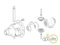 John Deere-Pinioane diferential-PINION SATELIT DIFERENTIAL FATA