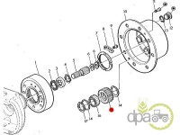 John Deere-Pinioane reductor-PINION SATELIT FATA
