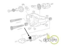 Landini-Alte piese motor-PINION SISTEM ECHILIBRARE MOTOR