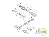 Massey Ferguson-Piulite transmisie-PIULITA GRUP CONIC FATA