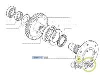 Fiat-Axe transmisie-PLANETARA SPATE