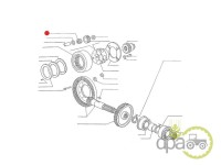 Fiat-Rulmenti reductor-ROLA RULMENT PINION SATELIT